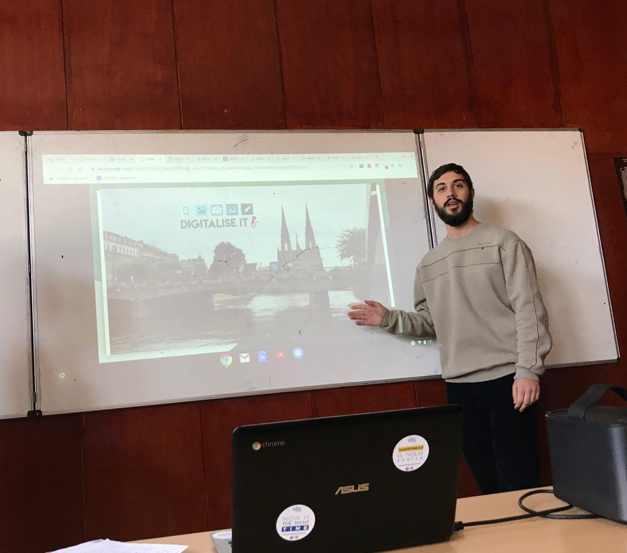 Active Bulgarian Society Team Organised a Local Workshop as Part of Digitalise IT!