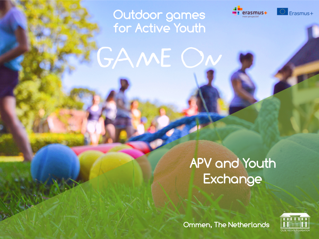 Game On Youth Exchange In Olde Vechte Foundation Ommen